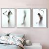 Naked Women Shadow Wall Art Set