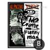 Alpacino Cartoon Letter Design Black and White Art