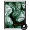 Let Your Ideas Go Wild Quote Design Leaf Canvas Print