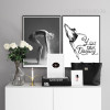 You Can Dancing Quote Girl Steps Photography Wall Art (2)