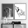 You Can Dancing Quote Girl Steps Photography Wall Art