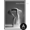 Girl dancing Step Photography Style Canvas Print