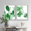 Monstera Deliciosa Cactus Succulents Watercolor Prints (2)