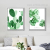 Monstera Deliciosa Cactus Succulents Watercolor Prints (3)