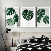 Monstera Leaf Design Green Botanical Prints (3)
