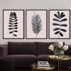 Palm Leaf Art Design Digital Canvas Prints (2)