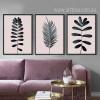 Palm Leaf Art Design Digital Canvas Prints (3)