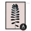 Modern Palm Leaves Canvas Print