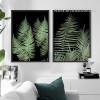 Modern Fern Plant Life Green Botanical Prints
