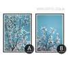 White Magnolia Flowers Style Botanical Prints (4)