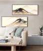 Abstract Mountain Range Canvas Prints (2)