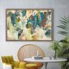 American Style Multicolor World Map Canvas Print (3)