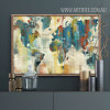 American Style Multicolor World Map Canvas Print