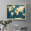 Blue Vintage World Map Art (3)