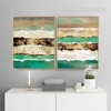 Abstract Earth Crust Canvas Painting Prints (2)