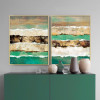 Abstract Earth Crust Canvas Painting Prints (3)