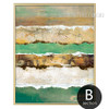 Abstract Earth Crust Canvas Painting Artwork