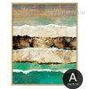 Abstract Earth Crust Canvas Painting Print