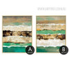 Abstract Earth Crust Canvas Painting Prints (4)
