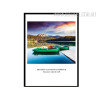 Landscape Boat Quote Canvas Art