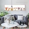 Cute Deer, Dog, Cat, Sheep Animals Canvas Wall Art