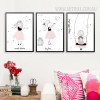 Little Girl Princess 3 Piece Wall Art Set