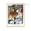 The Floating Umbrella Multicolor Canvas Print