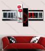Beautiful interior artwork Red Rose