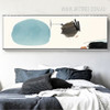 Panoramic Abstract Circle Draw Canvas Print