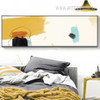 Panoramic Abstract Pencil Drawing Canvas Print