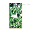 Tropical Green Leaf Canvas Art