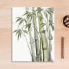 Green Bamboo Plant Wall Art