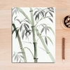 Green Bamboo Plant Art