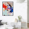 Modern Abstract Handpainted Watercolor Canvas Wall Art
