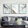 Modern Abstract Line Psychedelic Canvas Painting Prints