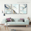 Modern Abstract Line Psychedelic Canvas Wall Decor