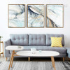 Modern Abstract Line Psychedelic Canvas Wall Art