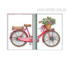 Romantic Bicycle Floral Art