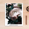 Rose Decorative Painting Wall Print