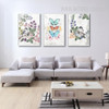 Vintage Flower Bird Butterfly Wall Prints