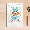 Vintage Butterfly Canvas Wall Art