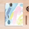 Abstract Color Strokes Canvas Wall Art