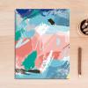 Abstract Color Strokes Canvas Wall Decor