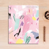 Abstract Pink Color Strokes Canvas Painting Print