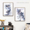 Modern Watercolor Ballet Dance Girl Poster Canvas Prints