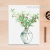 Green Plant in Vase Poster Canvas Art