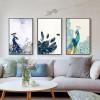 Beautiful Peacock Bird Feathers Wall Decor Print