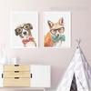 Cool Dog Fox Animals Poster Prints