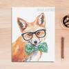 Cool Fox Animal Poster Print