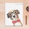 Cool Dog Animal Poster Print